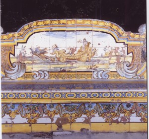 <span>Naples, Santa Chiara cloister, riggiole designed by Domenico Antonio Vaccaro</span><i>→</i>