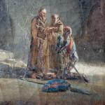 August de Forbin, Battesimo di un guerriero in una catacomba - Fotografia R.O.M.A. consorzio