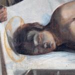 F. Marius Granet, Ritrovamento del corpo di San Sebastiano - Fotografia R.O.M.A. consorzio